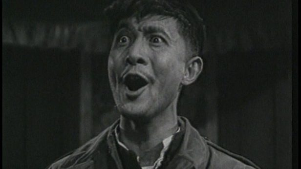 Zhao Dan in Crows and Sparrows 1949