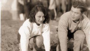 Sports Queen 1934 production still track